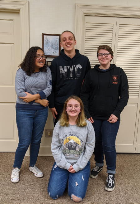The Pulaski County Library System Youth Adviosry Group